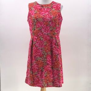 Cato floral print sleeveless dress no size tag